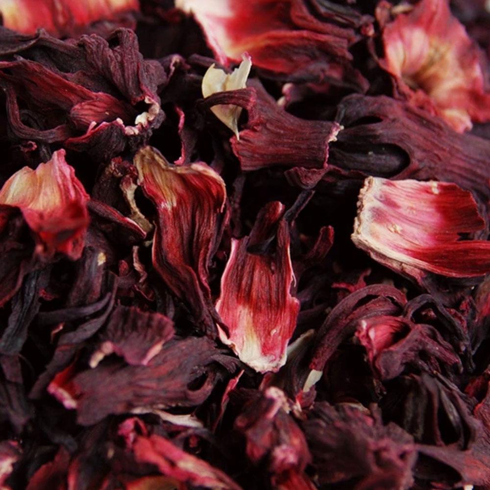 Цветки Каркадэ (гибискус)