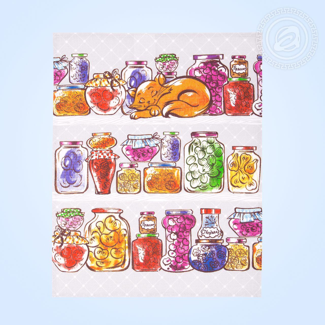"Комплект кухонных полотенец ""Джем"" (3 полотенца 45х60)"