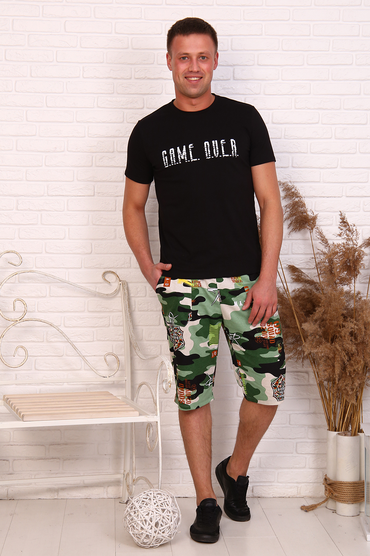 "Костюм мужской ""Game"" (футболка,шорты)"