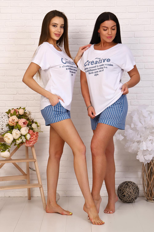 """Костюм женский """"Мэдисон"""" (шорты,футболка)"""