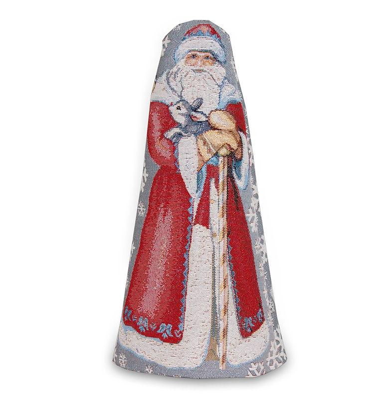 "Гобеленовый чехол на бутылку ""Дед Мороз"""