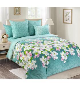 """Комплект постельного белья из перкаля """"Яблони в цвету"""""""