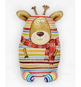 "Подушка-игрушка из гобелена ""Оленёнок"" 35х50"