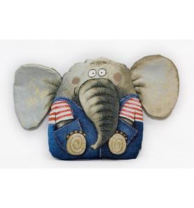 """Подушка-игрушка гобеленовая """"Слонёнок"""" 35х50"""