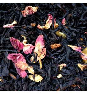 """Чай чёрный """"Для любимых"""" с лепестками роз и цедрой цитрусовых"""