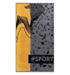 "Полотенце махровое ""Hashtag sport"""