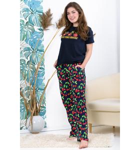 "Костюм женский ""Berries"" (футболка, брюки)"