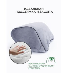 "Автомобильная подушка подголовник ""Neadflux"" (22х25х12)"
