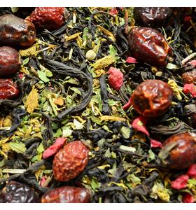 """Чай """"Монастырский"""" чёрный байховый индийский крупнолистовой с ягодно-травяными добавками"""