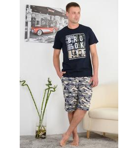 "Костюм мужской ""Брук"" (шорты,футболка)"