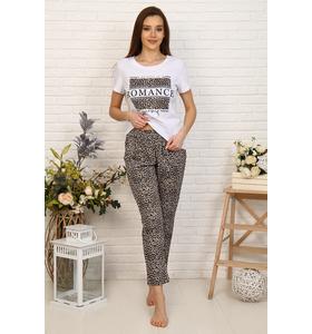 """Пижама женская """"Романия"""" (футболка,брюки)"""