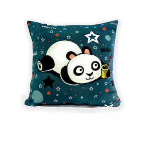 "Наволочка гобеленовая ""Panda"" желт. (45х45)"