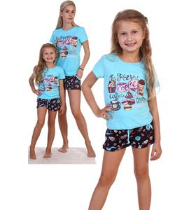 """Пижама детская """"Пончик"""" (футболка , шорты)"""