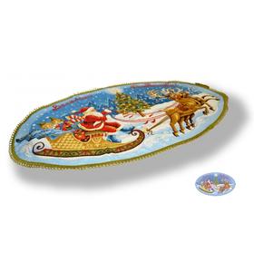 """Салфетка гобеленовая """"Веселого Рождества"""""""