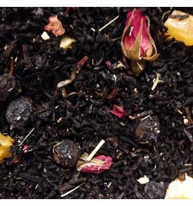 """Чай """"Каравеллы любви"""" чёрный байховый среднелистовой с добавлением растительного сырья"""