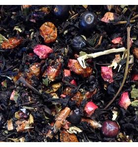 """Чай """"Таёжное озеро"""" чёрный байховый с ягодно-травяными добавками"""