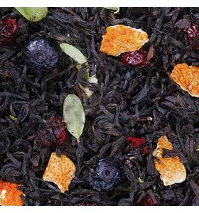 """Чай """"Зимняя вишня"""" чёрный байховый крупнолистовой с растительными добавками"""