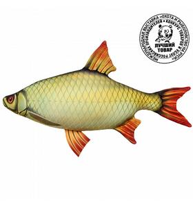 """Антистрессовая игрушка рыба """"Красноперка"""""""