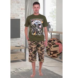 "Костюм мужской ""Морпехи"" (футболка, шорты)"